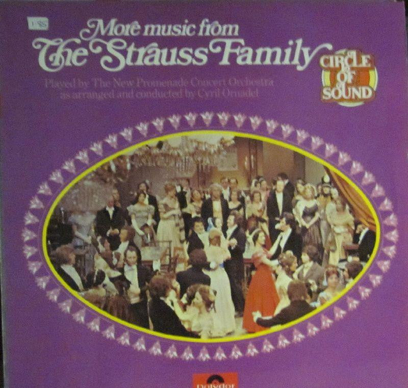 The Promenade Concert Orchestra-Music From The Strauss Family-Polydor-Vinyl LP