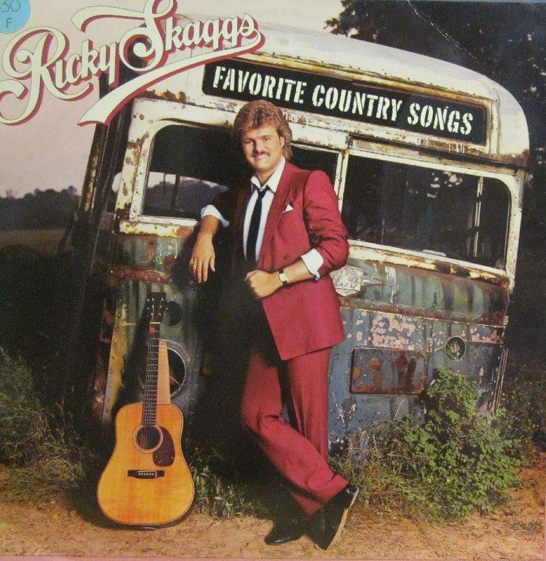 Ricky Skaggs-Favourite Country Songs-Epic-Vinyl LP