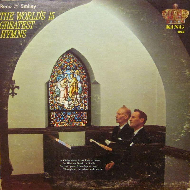 Reno & Smiley-The World's 15 Greatest Hymns-King-Vinyl LP
