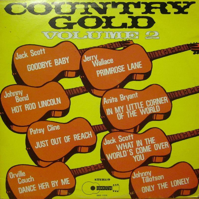 Various Country-Country Gold Volume 2-Buckboard-Vinyl LP