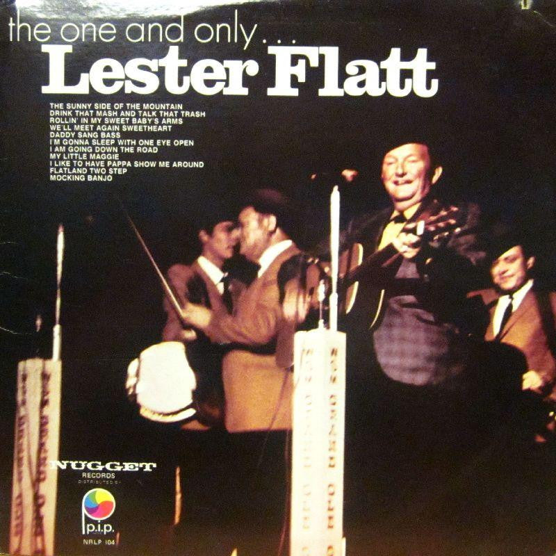 Lester Flatt-The One And Only-Nugget-Vinyl LP