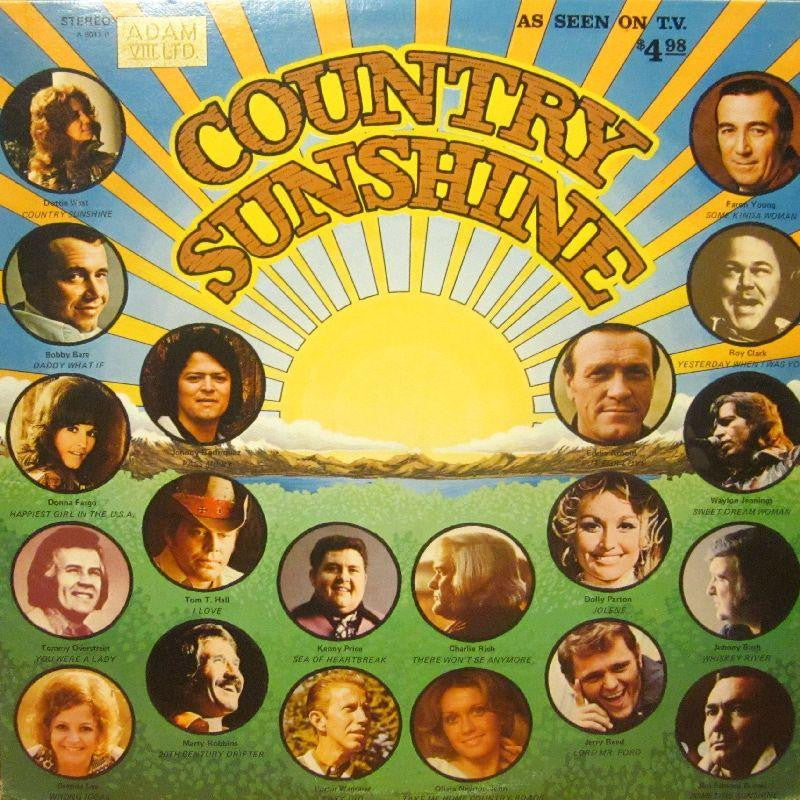 Various Country-Country Sunshine-Adam VIII-Vinyl LP