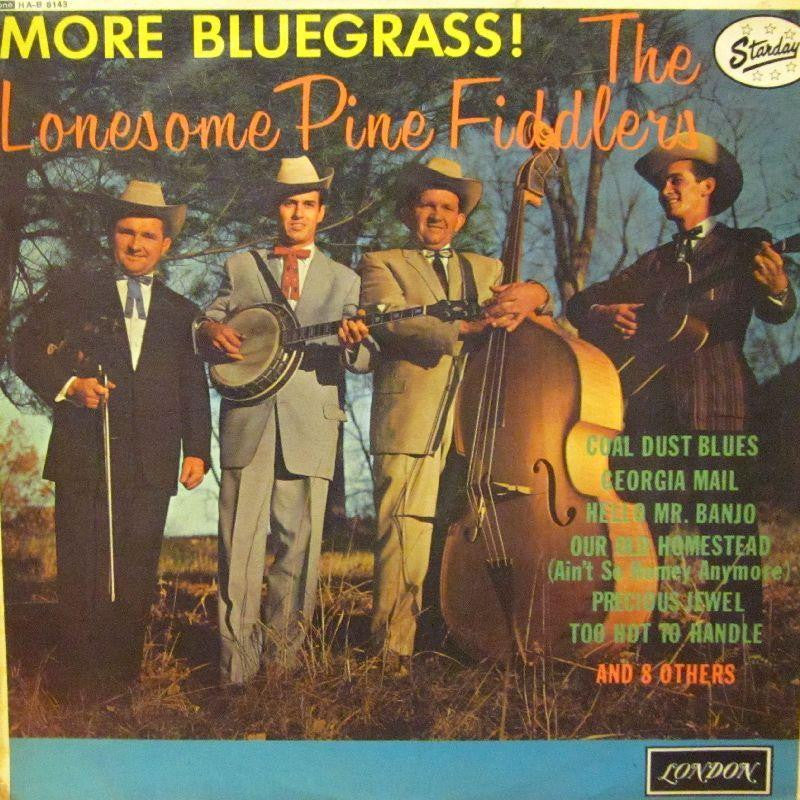 The Lonesome Pine Fiddlers-More Bluegrass-London-Vinyl LP