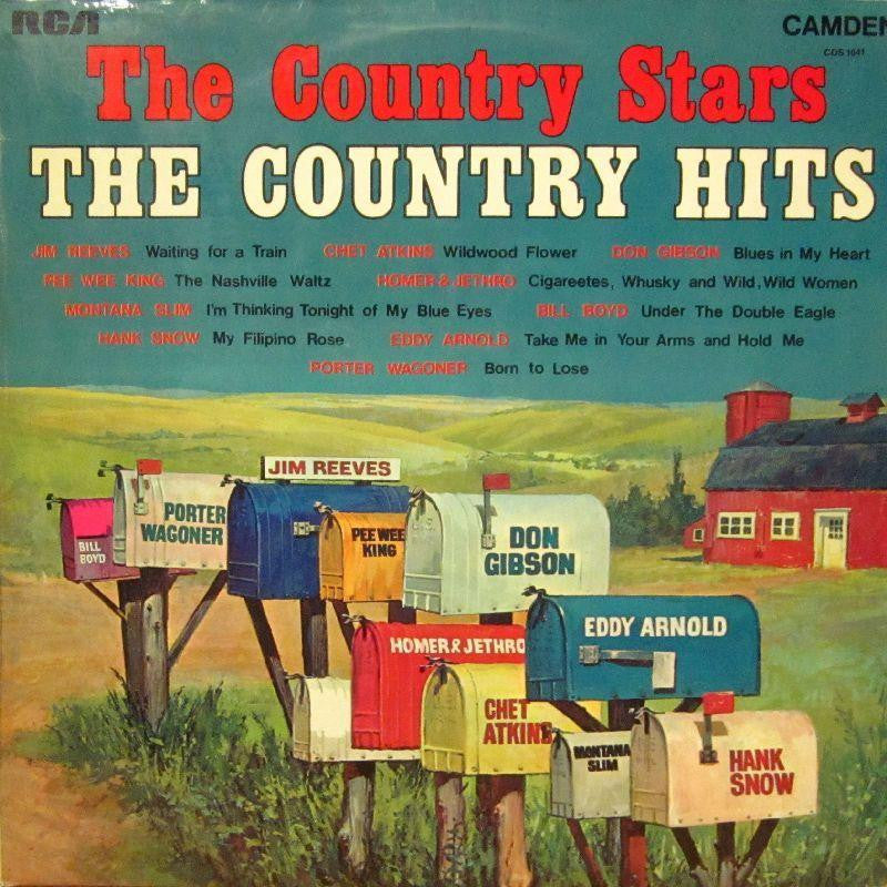 Reeves/Atkins/Gibson-The Country Stars: The Country Hits-RCA-Vinyl LP