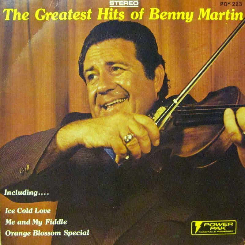 Benny Martin-The Greatest Hits Of-Power Pak-Vinyl LP