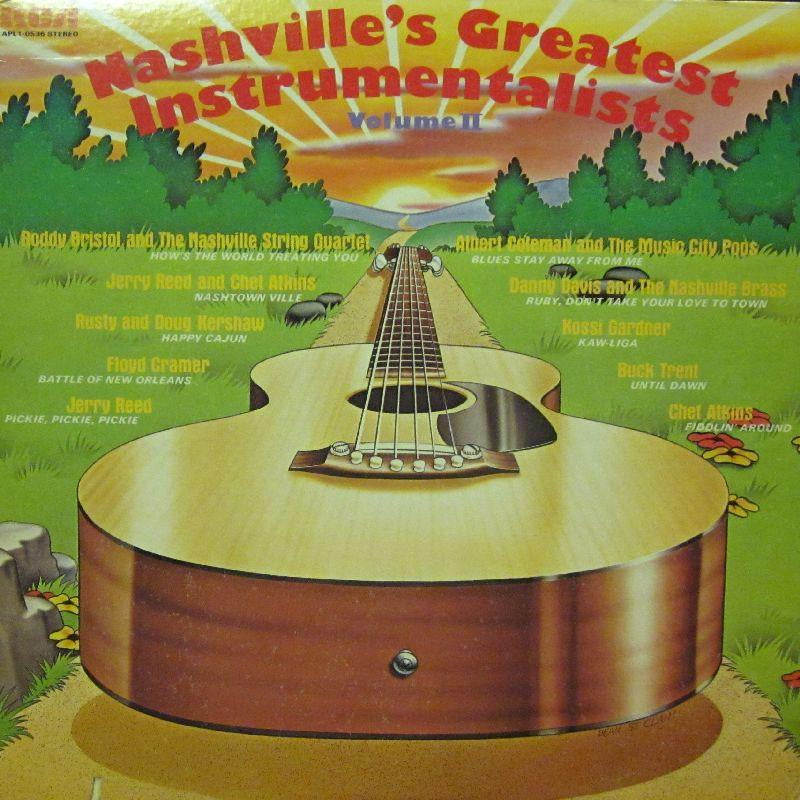 Various Country-Nashvilles Greatest Instrumentals Vol.II-RCA-Vinyl LP
