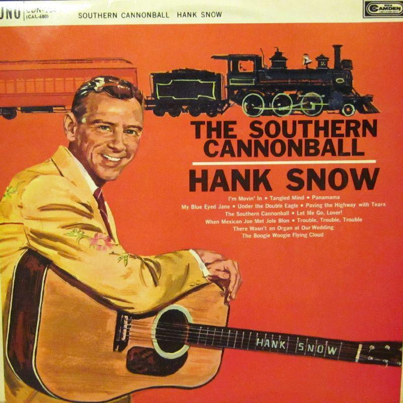 Hank Snow-The Southern Cannonball-RCA-Vinyl LP