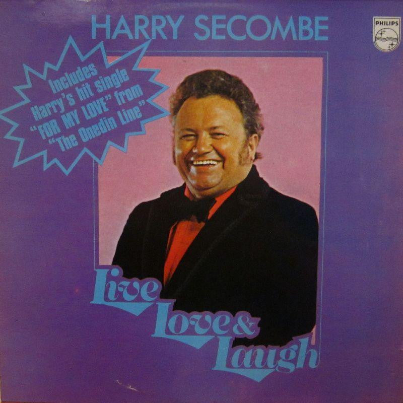 Harry Secombe-Live Love & Laugh-Philips-Vinyl LP