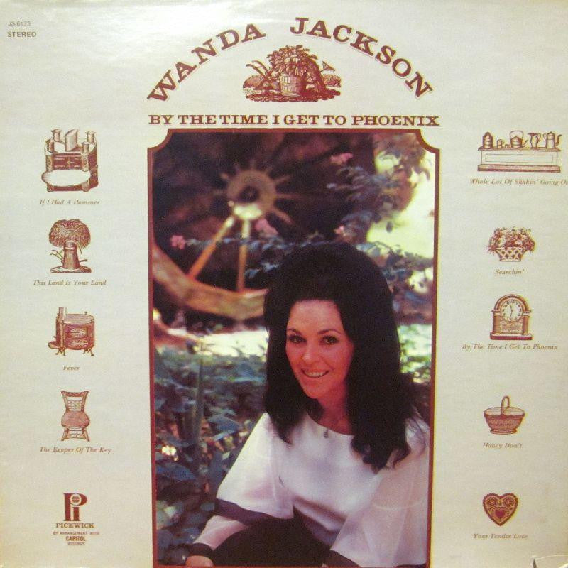 Wanda Jackson-By The Time I Get To Phoenix -Pickwick-Vinyl LP