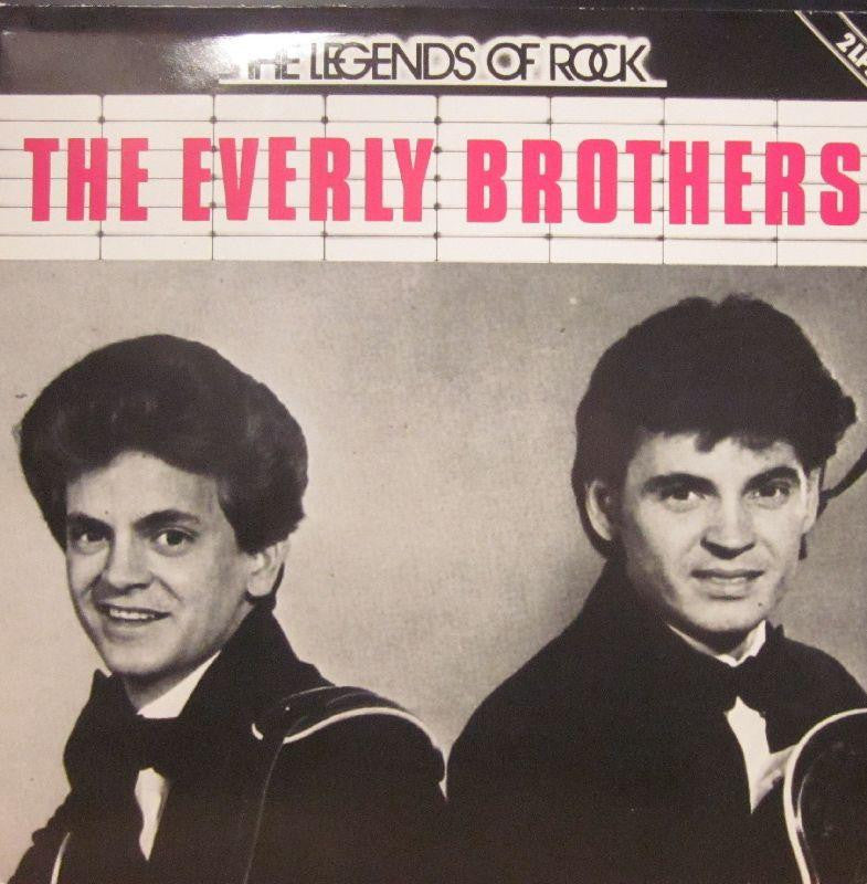 "The Everly Brothers-The Legends Of Rock-Telefunken-2x12"" Vinyl LP Gatefold"