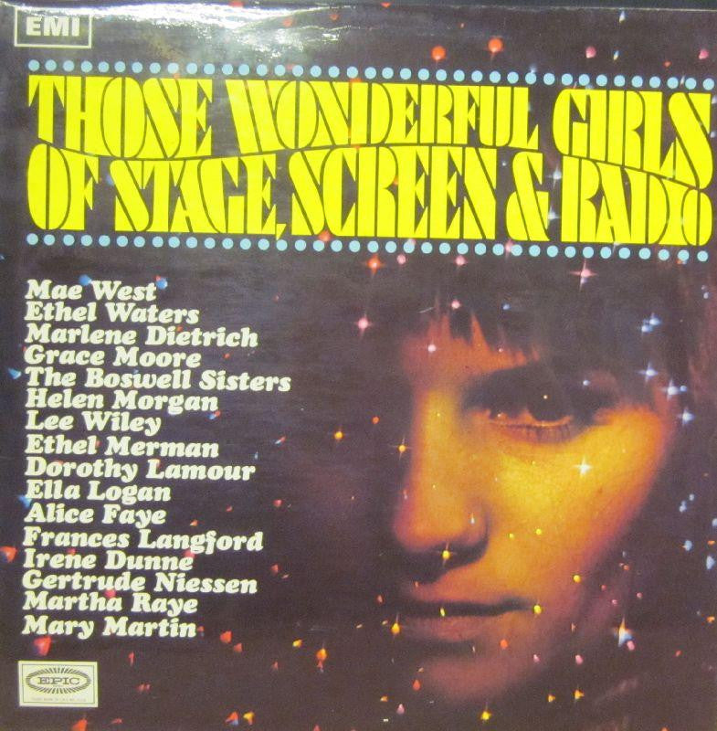 Various OST-Those Wonderful Girls Of Stage, Screen & Radio-Columbia-Vinyl LP