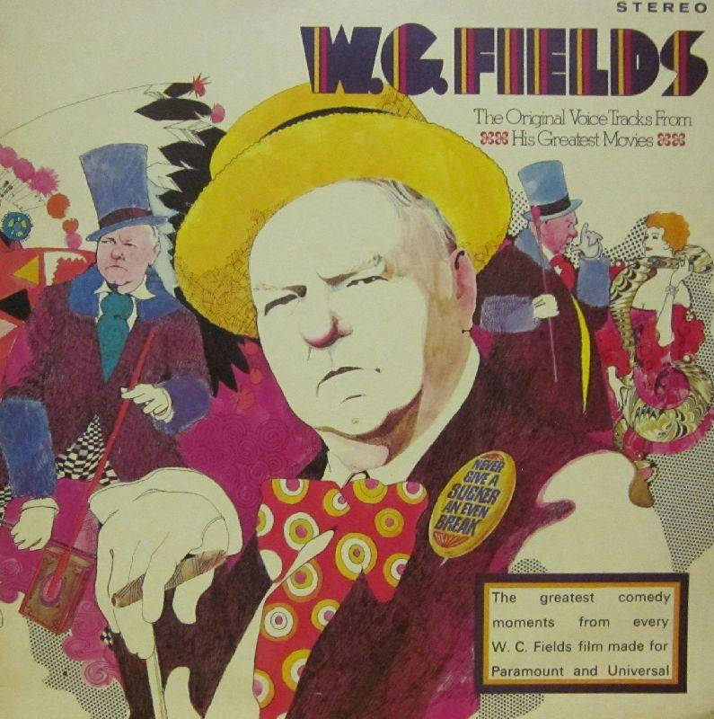 W.C Fields-The Original Voice Tracks From His Greatest Movies-MCA-Vinyl LP