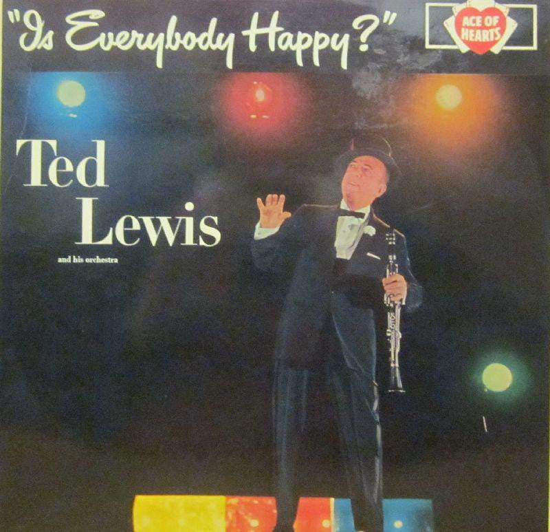 Ted Lewis-Is Everybody Happy-Decca-Vinyl LP