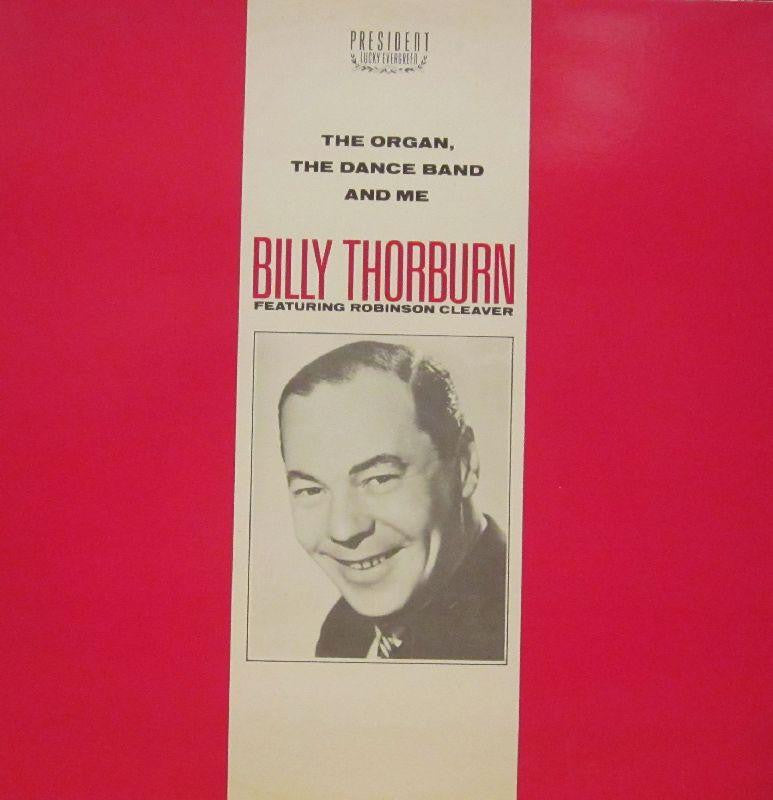 Billy Thorburn-The Organ, The Dance Band And Me-President-Vinyl LP