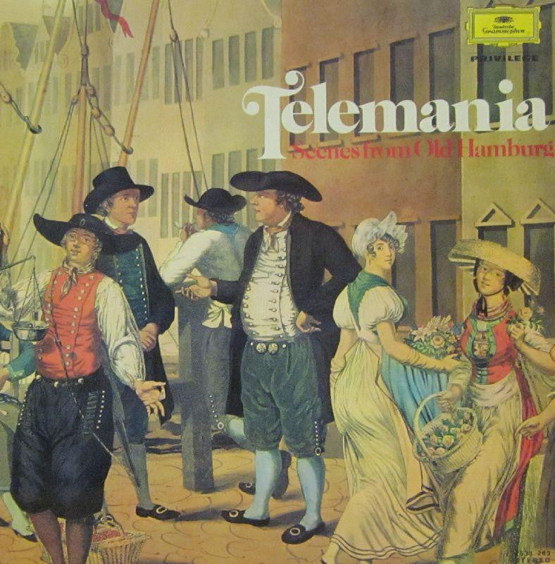 Telemann-Telemania: Scenes From Old Hamburg-Deutsche Grammophon-Vinyl LP