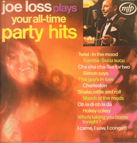 Joe Loss-Plays Your All Time Party Hits-MFP-Vinyl LP