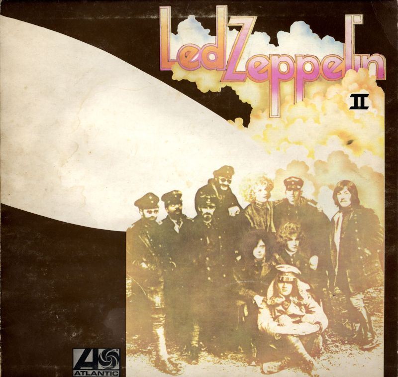 Led Zeppelin II-Atlantic-Vinyl LP Gatefold