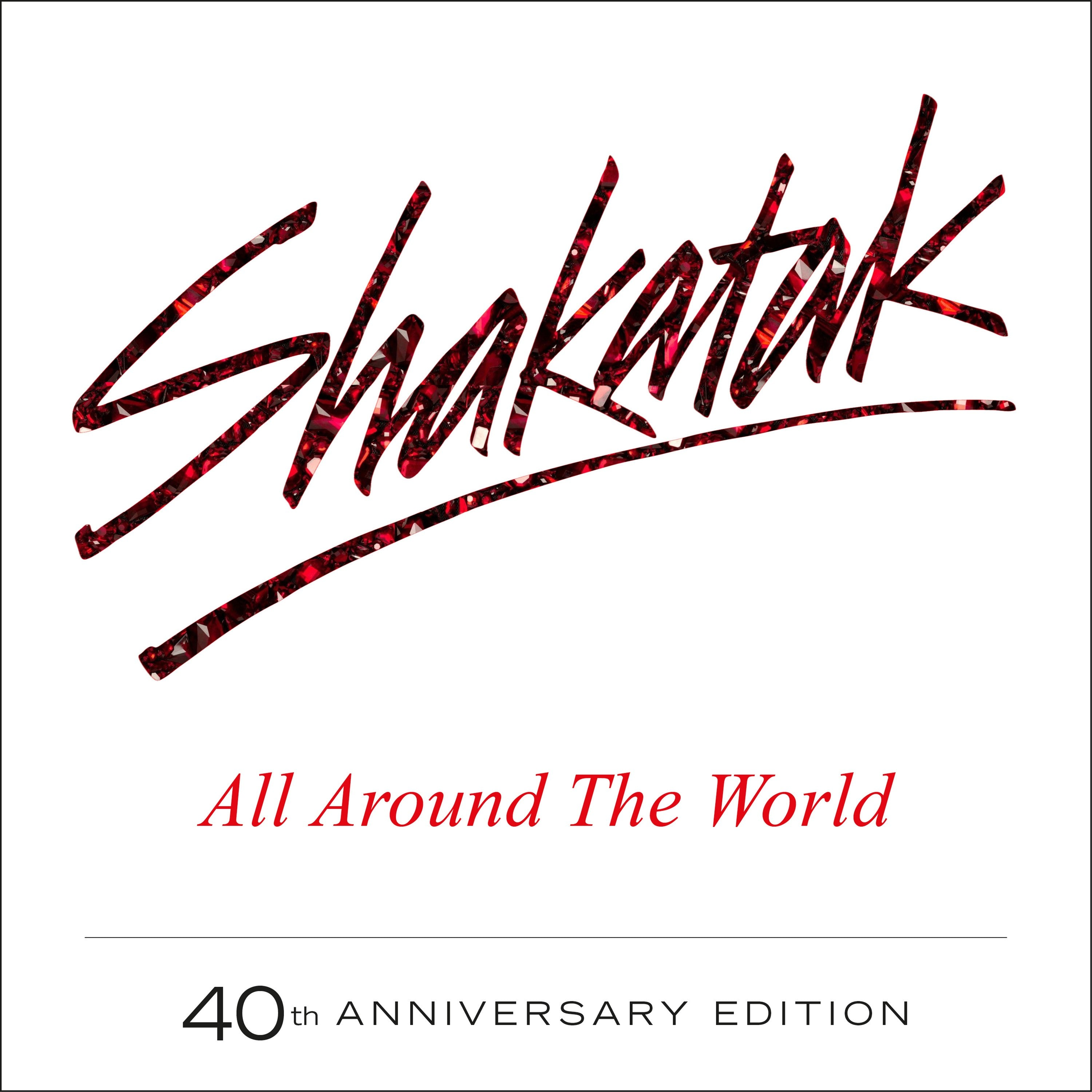 All Around The World 40th Anniversary-3CD/DVD-Secret-CD Album-New & Sealed