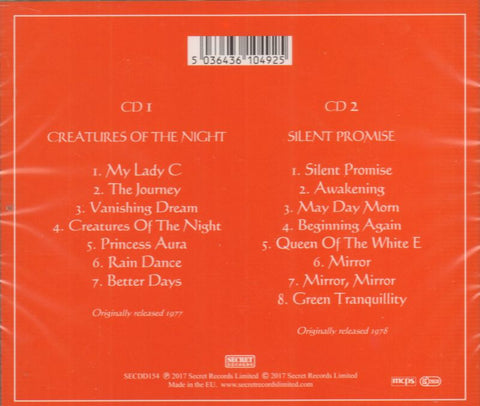 Turning Point-Creatures Of The Night-Secret-2CD Album-New