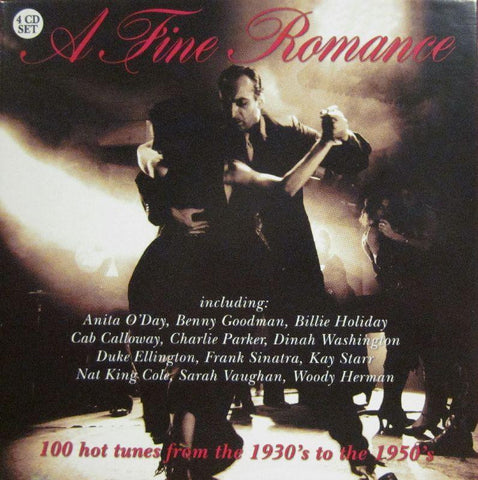 Various 50's-A Fine Romance-Secret-4CD Album Box Set
