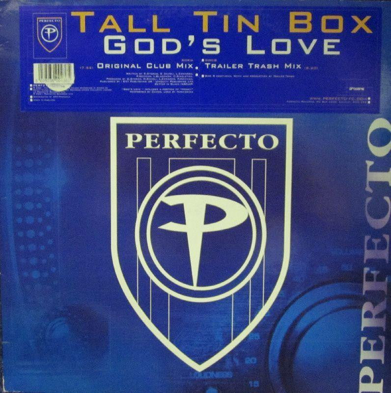 "Tall Tin Box-Gods Love-Perfecto-12"" Vinyl"