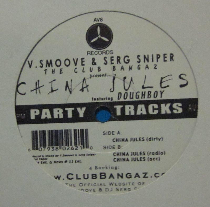 "V Smoove & Serg Sniper-Party Tracks-AR8 Records-12"" Vinyl"