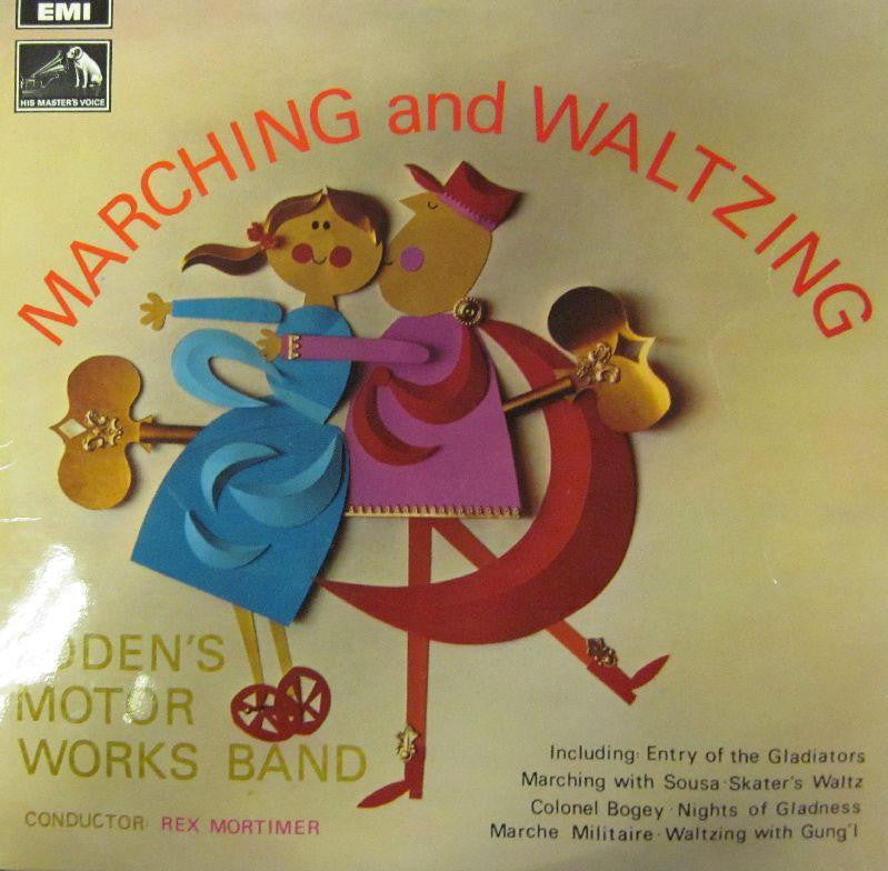 Boden's Motor Works Band-Marching and Waltzing-EMI-Vinyl LP