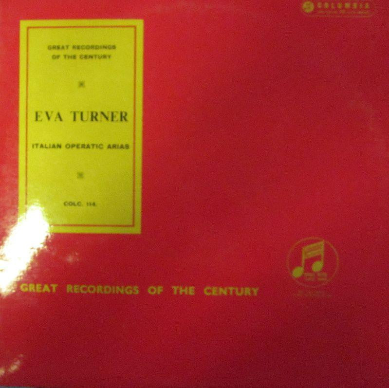 Eva Turner-Italian Operatic Arias-Columbia-Vinyl LP