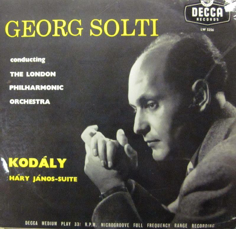 "Kodaly/Solti-Hary Janos-Suite-Decca-10"" Vinyl"