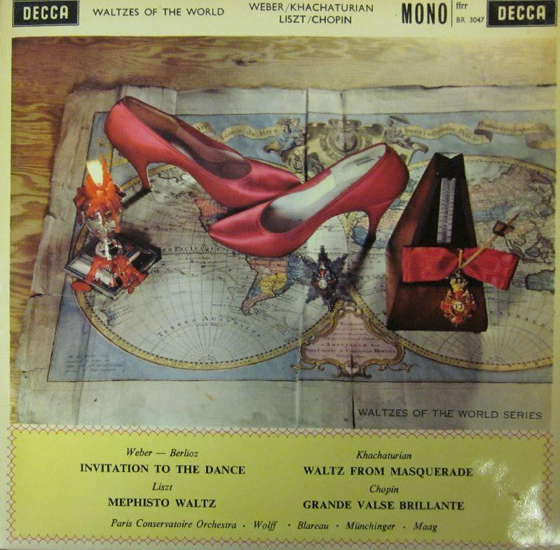 "Weber/Liszt/Chopin/Khachaturian-Waltzes of The World-Decca-10"" Vinyl"
