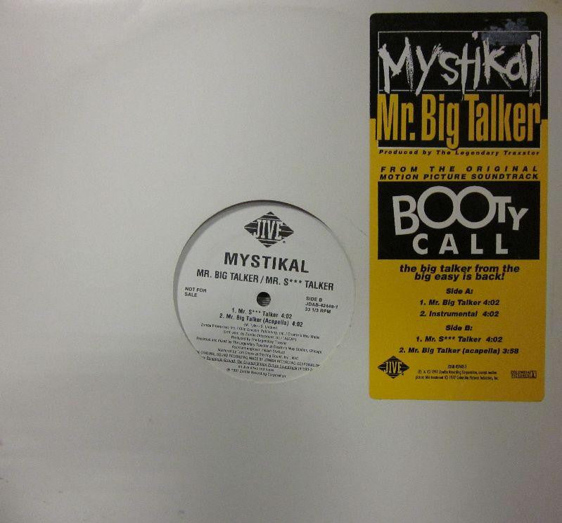 "Mystikal-Mr. Big Talker-JIVE-12"" Vinyl"