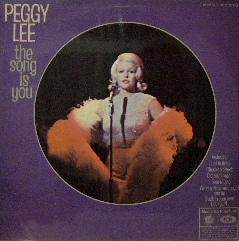 Peggy Lee-The Song Is You-MFP-Vinyl LP