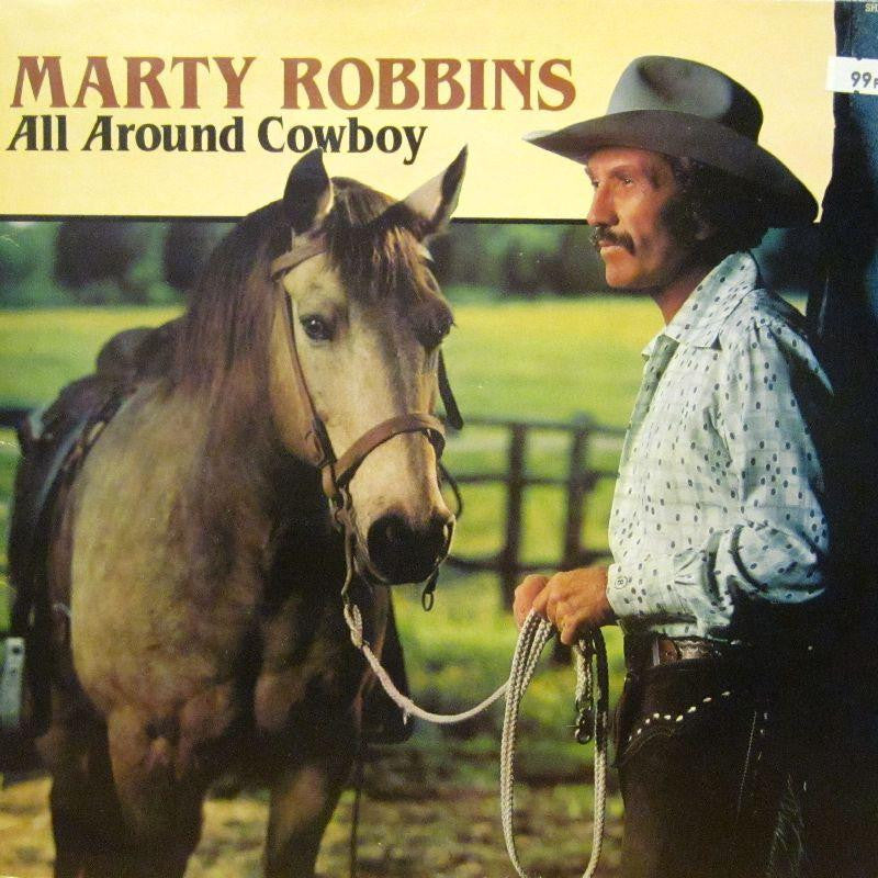 Marty Robbins-All Around Cowboy-Hallmark-Vinyl LP