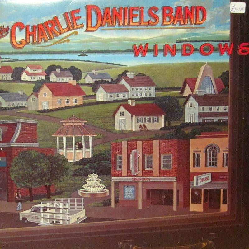 The Charlie Daniels Band-Windows-Epic-Vinyl LP