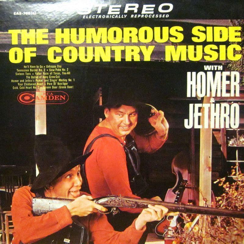 Homer-The Humorous Side Of Country Music-RCA-Vinyl LP