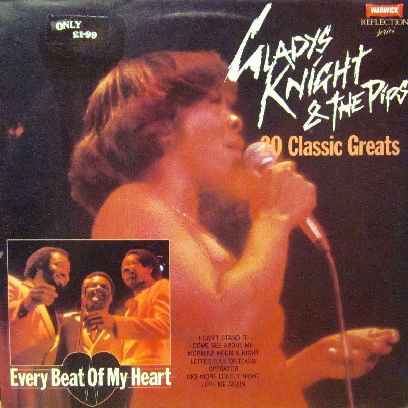 Gladys Knight & The Pips-Every Beat Of My Heart-Warwick-Vinyl LP