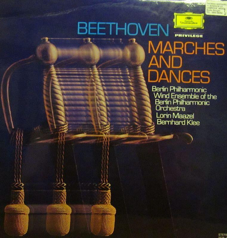 Beethoven-Marches And Dances-Deutsche Grammophon-Vinyl LP Gatefold