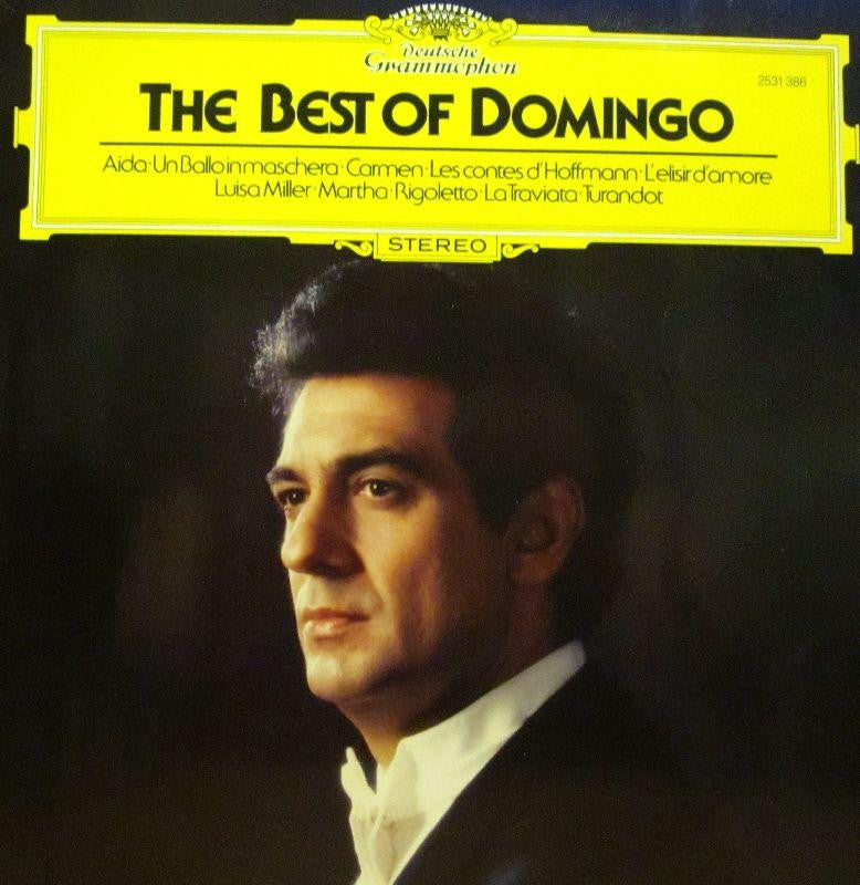 Placido Domingo-The Best Of-Deutsche Grammophon-Vinyl LP