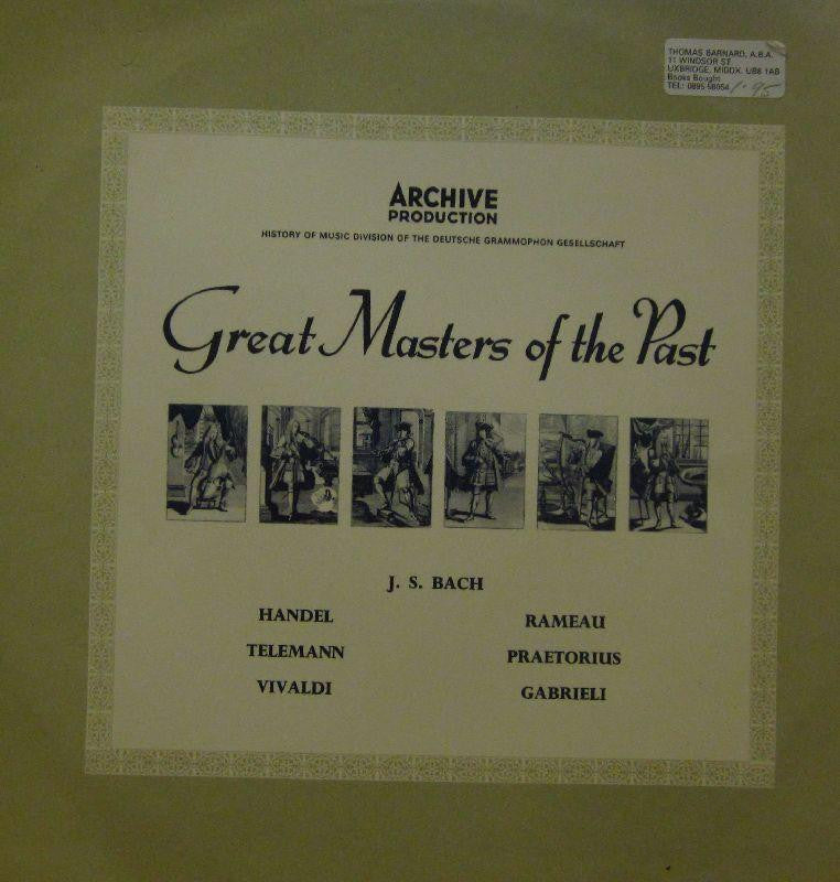 Various Classical-Great Masters Of The Past-Archive-Vinyl LP