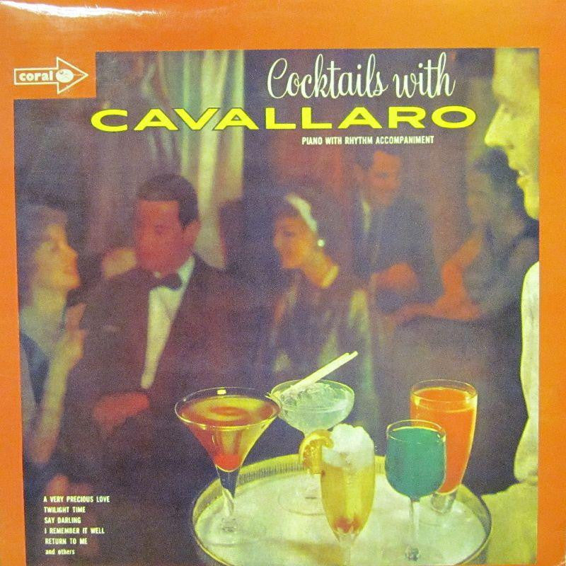 Cavallaro-Cocktails With-Coral-Vinyl LP