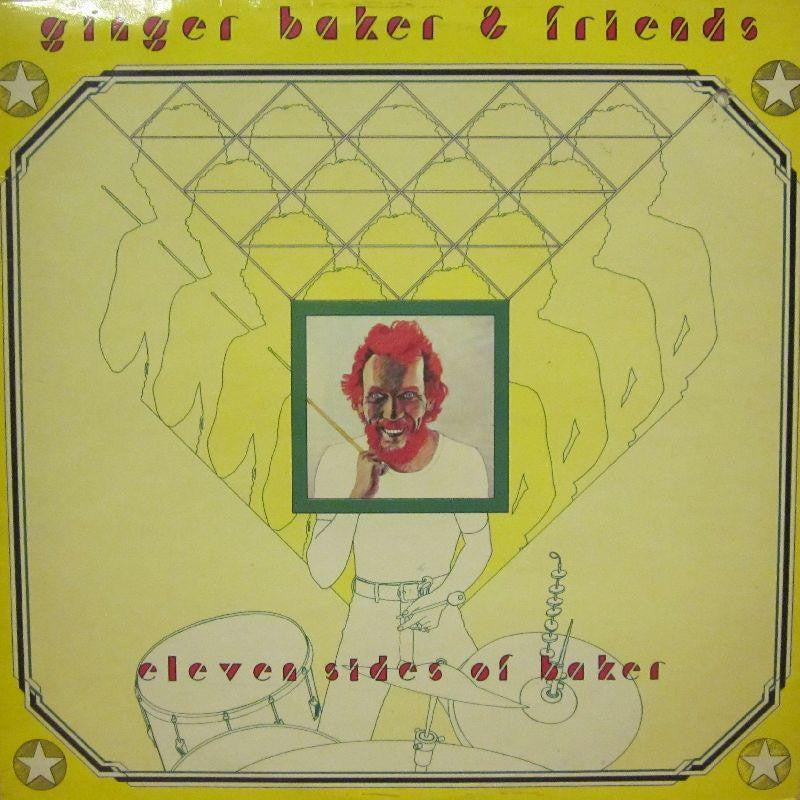 Ginger Baker & Friends-Eleven Sides Of Baker-Mountain-Vinyl LP