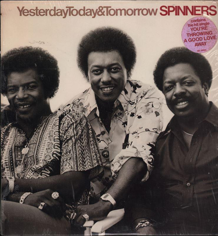 The Spinners-Yesterday Today & Tomorrow-Atlantic-Vinyl LP