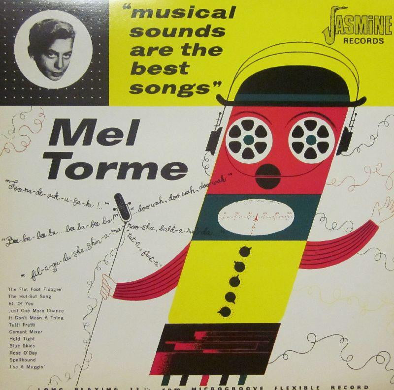 Mel Torme-Musical Sounds Are The Best Songs-Jasmin-Vinyl LP