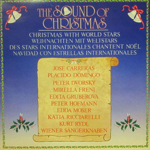 Carreras/Domingo-The Sound Of Christmas-CBS-Vinyl LP Gatefold
