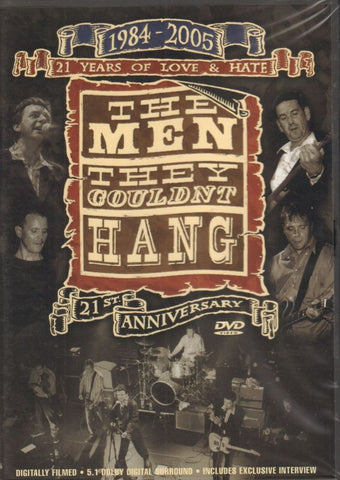 The Men They Couldn't Hand: 21 Years Of Love And Hate-Secret-DVD