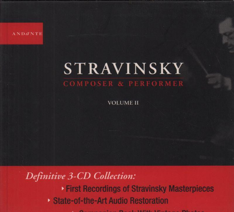 Stravinsky-Volume II-3CD Album