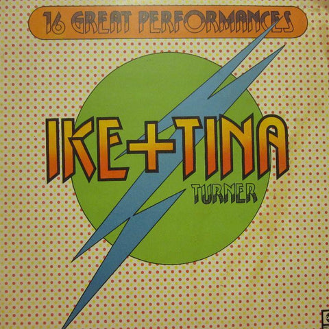 Ike & Tina Turner-16 Great Performances-abc-Vinyl LP