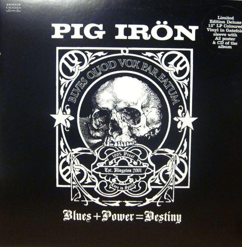 Pig Iron-Blues + Power=Destiny-Sounds Of Caigula-Vinyl LP Gatefold