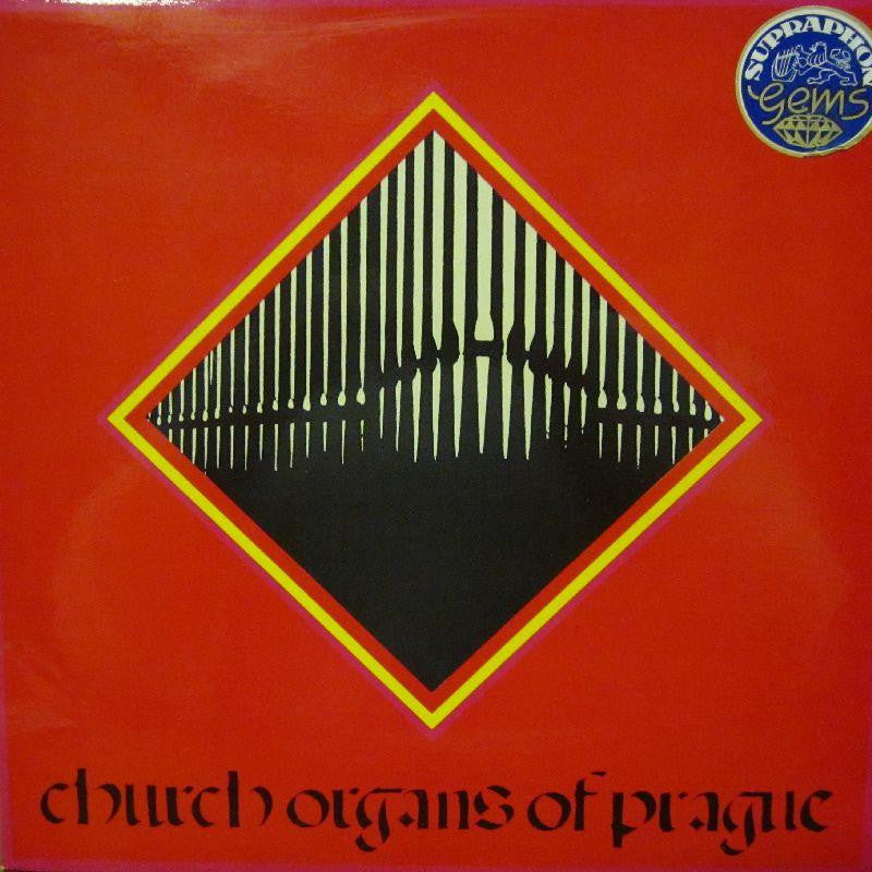 "Church Organs of Prague-Church Organs Of Prague-Supraphon-2x12"" Vinyl LP Gatefold"