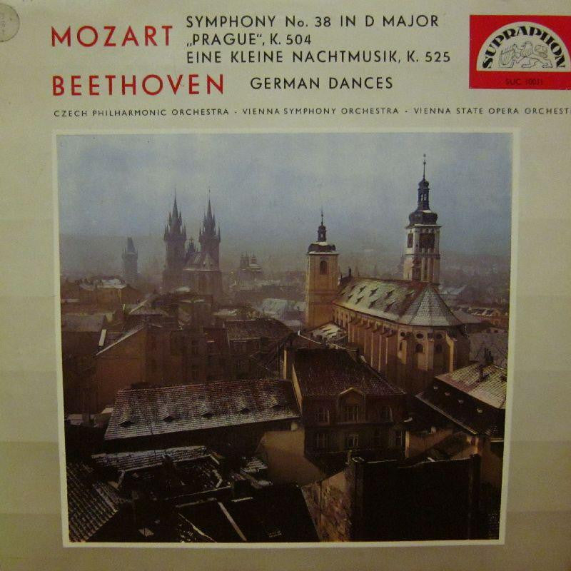 Mozart/Beethoven-Symphony No.38/German Dances-Supraphon-Vinyl LP
